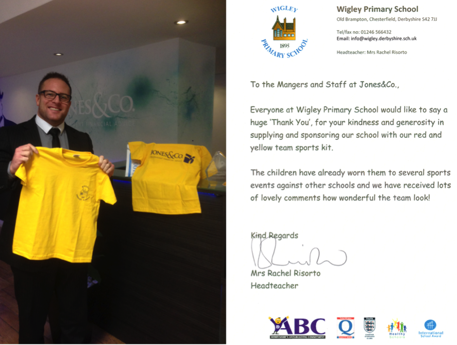 Wigley Primary School Sponsorship