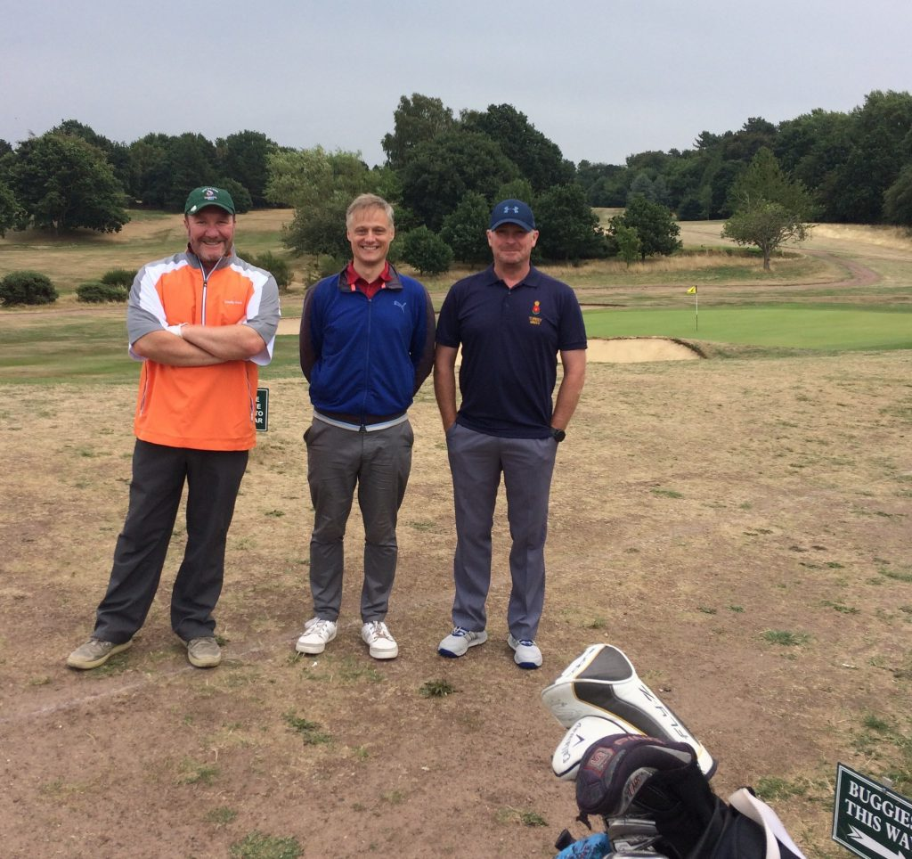 The Jones & Co winners on the course at Worksop Golf Club!